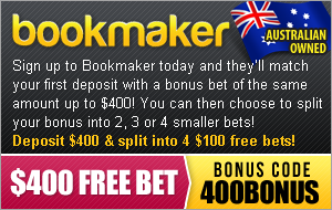 bookmaker Free Bet